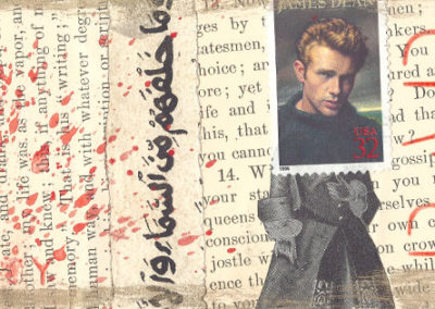 mail art personal james dean