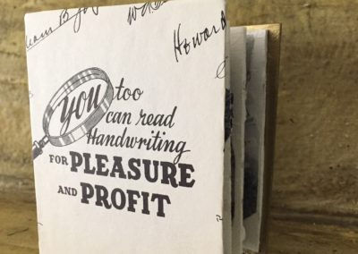 you too can read handwriting for pleasure and profit