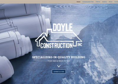 Doyle Construction Website