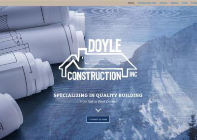 Doyle Construction Website