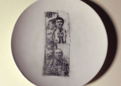 image transfers on plates